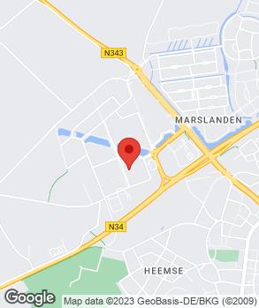 Locatie Hofsink & Nijland op kaart