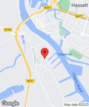 Locatie Garage van Hasselt, ho AD Autobedr. Autoserv. op kaart