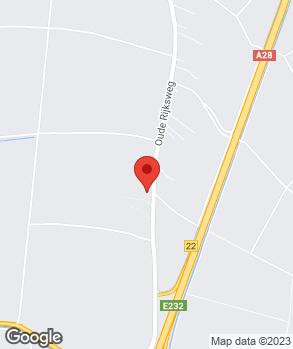 Locatie Garagebedrijf Korterink B.V. op kaart
