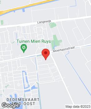 Locatie Westerbaan Automotive op kaart