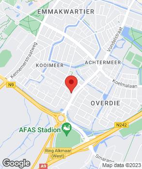 Locatie Automobielbedrijf A.C. Boots B.V. op kaart