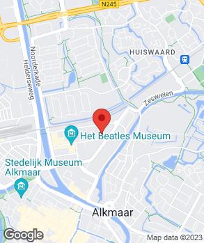 Locatie Porsche Service Noord-Holland B.V. op kaart