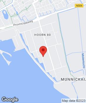 Locatie Ouke Baas'garagebedrijven en Hand.mij. B.V. op kaart