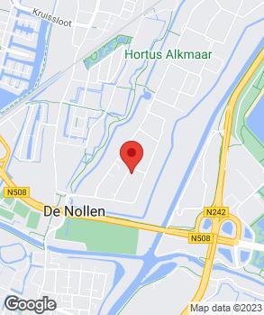 Locatie Autobedrijf Dirk Barten Alkmaar B.V. op kaart