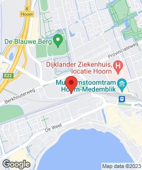 Locatie Auto Tensen B.V. op kaart