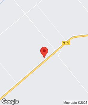 Locatie multihandel halfweg op kaart