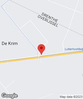 Locatie R. Kreeft op kaart