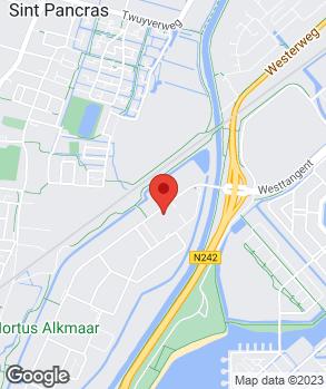 Locatie Garagebedrijf Ton Sneek op kaart