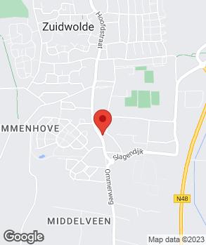 Locatie Autobedrijf De Lange op kaart