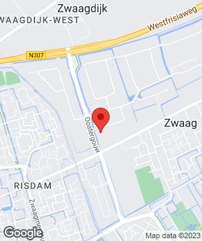 Locatie Obdam's Automobielbedrijf Hoorn B.V. op kaart