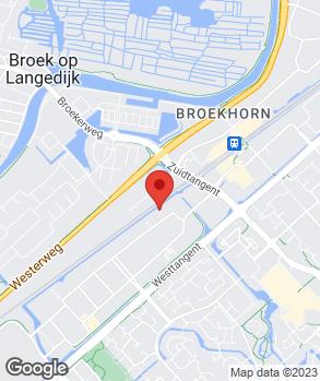 Locatie Autobedrijf Dirk Barten Heerhugowaard B.V. op kaart