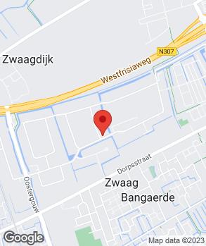Locatie Autocentrale West-Friesland op kaart