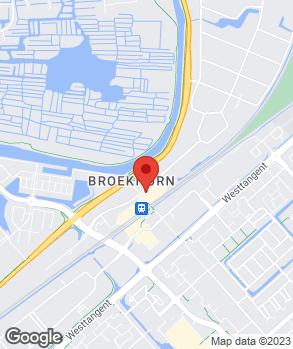 Locatie Autobedrijf Master op kaart