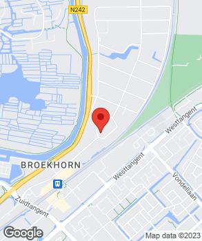 Locatie Otostore Heerhugowaard op kaart