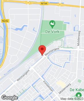 Locatie Autobedrijf Benthuis op kaart