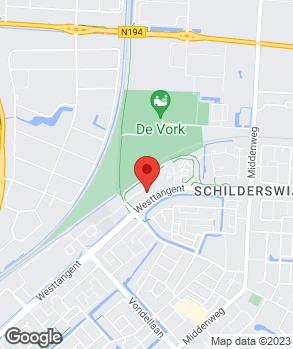 Locatie Autobedrijf Bruin-Van Kesteren B.V. op kaart