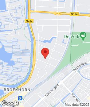 Locatie Dekkerautogroep Heerhugowaard op kaart