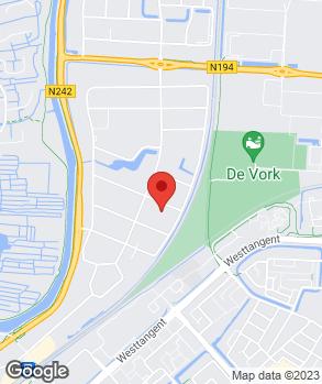 Locatie Garagebedrijf Van den Berg op kaart