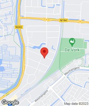 Locatie Autobedrijf Stef de Vries op kaart