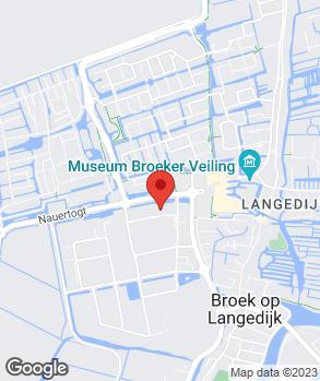 Locatie Burgers van Buuren V.O.F. op kaart