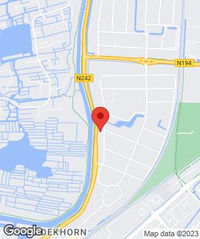Locatie Autobedrijf Van Zwienen Heerhugowaard op kaart