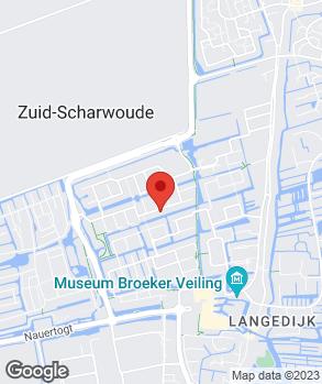 Locatie OG&Dienstverlening op kaart