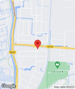 Locatie Autoservice Van der Meulen op kaart
