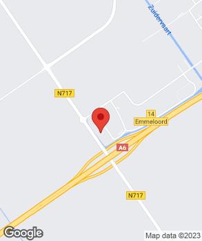 Locatie Bakker & Van Duren op kaart