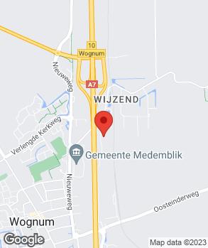 Locatie Wester Wognum B.V. op kaart
