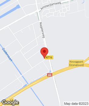 Locatie Euromaster Emmeloord op kaart