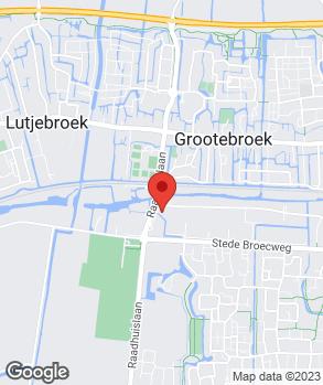 Locatie Autoflex Grootebroek op kaart