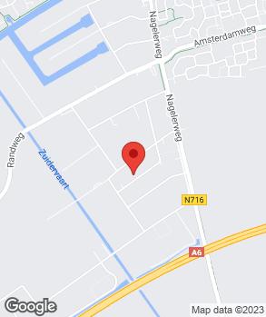 Locatie Autospuiterij Jan Stuut op kaart
