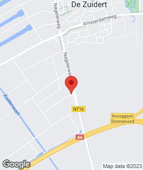 Locatie Autobedrijven Dijkstra Emmeloord B.V. op kaart