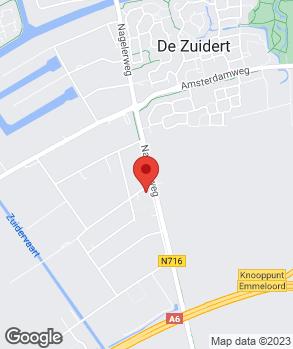 Locatie Autobedrijf Van der Heide Emmeloord B.V. op kaart