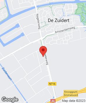 Locatie Autobedrijf Jacob Schaap Emmeloord op kaart