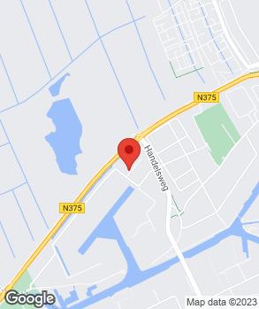 Locatie Autohandel de Pruis op kaart