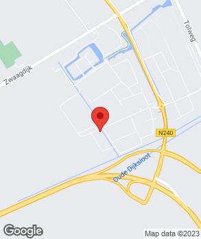Locatie Autoservice WFO op kaart