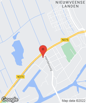 Locatie Autohuis Meppel op kaart