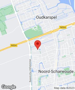 Locatie Auto Hoogeboom op kaart