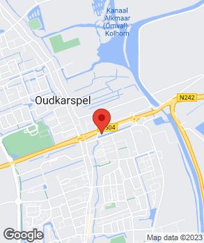 Locatie Autobedrijf Langedijk op kaart