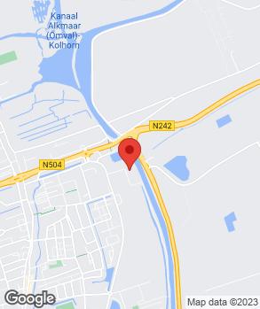 Locatie Autobedrijf Jan de Boer op kaart
