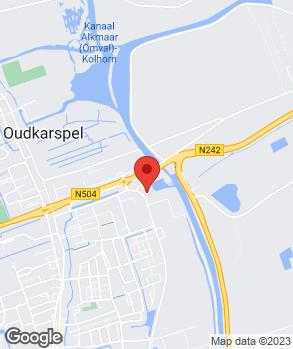 Locatie Autoservice Bakker op kaart