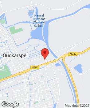 Locatie Autobedrijf Tesselaar B.V. op kaart