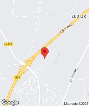 Locatie ACD Autobedrijf   Autocentrum Dalen op kaart