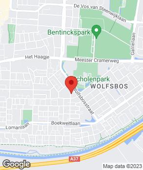 Locatie Handelsonderneming Bosman op kaart