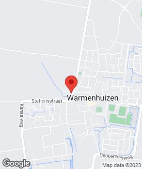 Locatie Vakgarage Henk Jonker V.O.F. op kaart