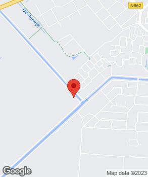Locatie Autohandel M. de Hoog op kaart