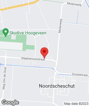 Locatie Garagebedrijf F. Schonewille op kaart