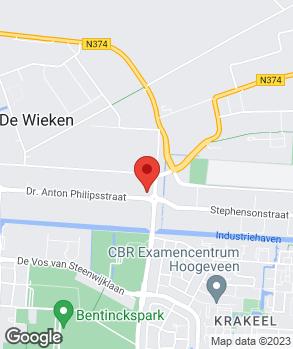Locatie Auto Brink op kaart