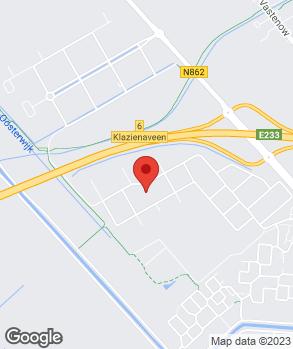Locatie Auto- en Bandenservice Klazienaveen op kaart